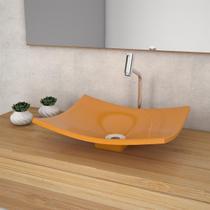 Cuba De Apoio Para Banheiro Compace Folha Bari F44w Amarela -