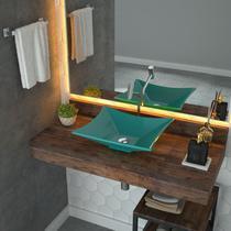 Cuba De Apoio Para Banheiro Trevalla Lux L38 Retangular -