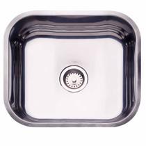 Cuba de Embutir para Cozinha Tramontina Retangular 40 BL Válvula de 3.1/2 Inox -
