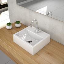 Cuba para Banheiro Q32W Compace Branco -