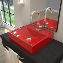 Cuba para Banheiro Q39W Ravena Compace Vermelho -