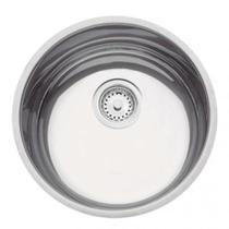 Cuba para cozinha em aço inox polido 35 cm com válvula - Perfecta - Tramontina