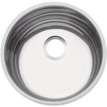 Cuba redonda para cozinha aço inox polido 38 cm STANDARD - Tramontina