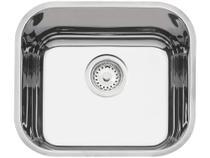Cuba Simples de Embutir para Cozinha Tramontina Inox Retangular 40x34cm Prime Lavínia +válvula+sifão -