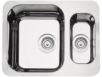 Cuba Simples e Auxiliar de Embutir para Cozinha - Tramontina Inox Retangular 58x45cm Prime 94037202