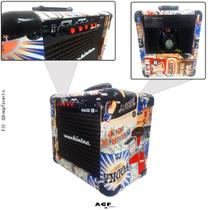 Cubo Amplificador Guitarra Mackintec Maxx15 Beer -