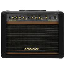 Cubo Ativo p/ Guitarra Fal 10 Pol 60W c/ Pedal - OCG 300 R Oneal -
