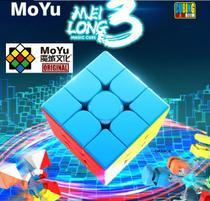 Cubo Mágico 3x3x3 Moyu Yulong V2 M Magnético Profissional -