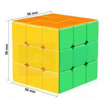 Cubo Mágico 3x3x3 Profissional Clássico Shantou Toys -