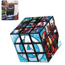Cubo Mágico dos Vingadores 5,5 Cm Avengers - 131396 - Etilux