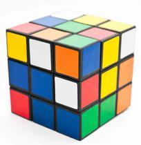 Cubo Magico Grande 3x3x3 Adulto Amador Festas 7cm 5 Pçs - 99 Express