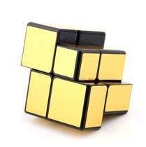 Cubo Mágico Mirror Blocks espelhado QiYi dourado 2x2 -