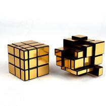 Cubo Mágico Mirror Blocks espelhado QiYi dourado -