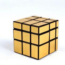 Cubo Mágico Mirror Cube espelhado Blocks Shengshou dourado -