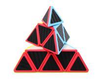 Cubo Mágico Pirâmide Pyraminx Profissional Qiming Carbon - Qiyi
