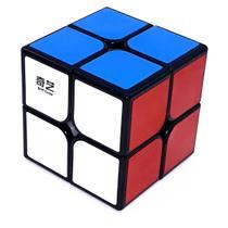 Cubo Magico Profissional 2x2x2 Qidi Qiyi Preto -