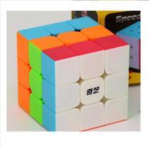 Cubo Mágico Profissional 3x3 Warrior Stickerless W - Qiyi