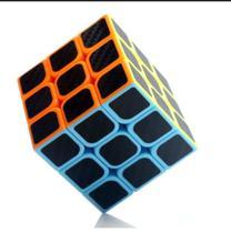 Cubo Magico Profissional 3x3x3 Carbon - Longyuan