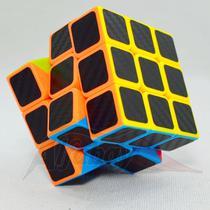 Cubo Mágico Profissional 3x3x3 Fanxin Black Carbon -