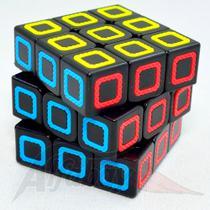 Cubo Mágico Profissional 3x3x3 Fanxin Black Stickerless -