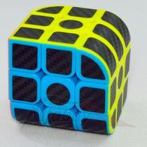 Cubo Mágico Profissional 3x3x3 Jiehui Black Carbon -