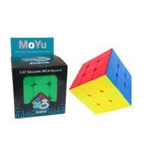 Cubo Mágico Profissional 3x3x3 Original Rubik Magic Cube - MoYu