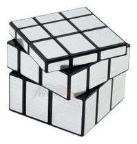 Cubo Mágico Profissional 3x3x3 Qiyi Mirror Block Espelhado -