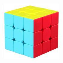 Cubo Mágico Profissional 3x3x3 Qiyi Warrior W - Original - Qi Yi Cube