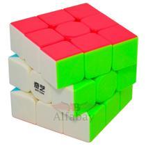 Cubo Mágico Profissional 3x3x3 Qiyi Warrior W Stickerless -