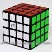 Cubo Mágico Profissional 4x4x4 Qiyi QiYuan Preto - Qiyi-mfg