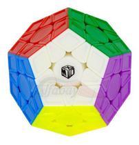 Cubo Mágico Profissional Megaminx Galaxy Qiyi Xman V2 L -