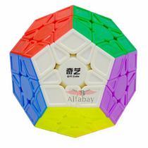Cubo Mágico Profissional Megaminx Stickerless Qiyi Qiheng S -