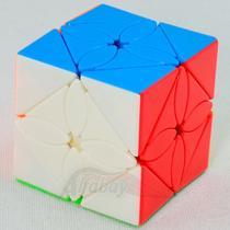 Cubo Magico Profissional Meilong Skew Maple Leaf Stickerless - Moyu
