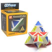 Cubo Mágico Profissional Pirâmide Pyraminx Rubiks SpeedCube - QYToys -
