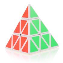 Cubo Mágico Profissional Pyraminx QiMing QiYi Fundo Branco -