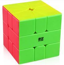 Cubo Mágico Profissional Square-1 Qiyi Qifa Stickerless -