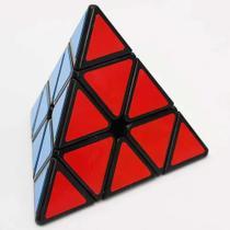 Cubo Magico Pyraminx Pirâmide Triângulo Profissional Black - arktoys
