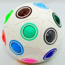 Cubo Mágico Rainbow Ball Bola Puzzle Quebra Cabeça Ball Moyu - 20 Cores -