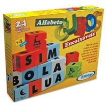 Cubos Encaixáveis Alfabeto 2854 Xalingo (266567) -