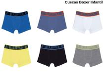 Cueca Boxer Infantil Lupo Kids Algodão Original Box Cotton