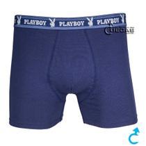 Cueca Boxer Playboy Cotton BX10401 -