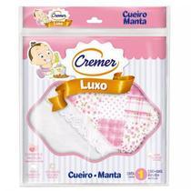 Cueiro Manta Luxo Feminino Rosa 372762 Cremer -