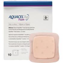 Curativo Aquacel Foam Adesivo 19,8 x 14 cm Calcâneo und. 420625 - Convatec -