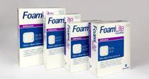 Curativo Aquacel Foam Lite 10 x 10 cm (Caixa c/ 10 unds.) und. 421559 - Convatec -