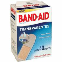 Curativo band-aid transparente 40 unidades - Johnson & Johnson