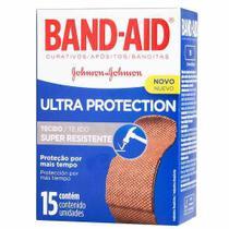 Curativo Band-Aid Ultra Protection c/ 15 Unidades - Johnson & Johnson