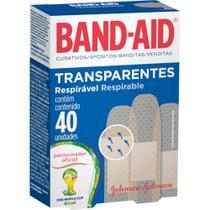 Curativo Transparente - 40 embalagens c/ 6 unidades - Band-Aid -