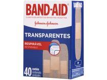 Curativo Transparente Band-Aid - 40 Unidades