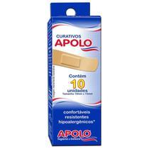 Curativos Apolo Hipoalergenicos 10Unidades -