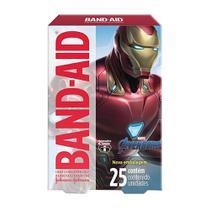 Curativos Band Aid Decorados Avengers 25 Unidades - Band-Aid